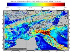 Remote sensing of atmospheric properties